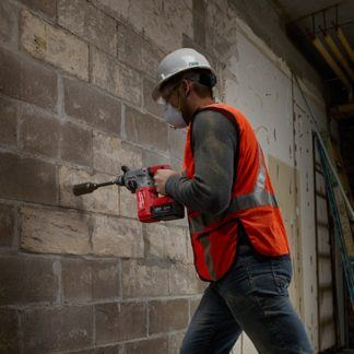 Milwaukee 2712-20 M18 FUEL SDS Plus Rotary Hammer In Use 2