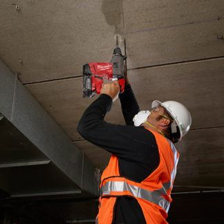 Milwaukee 2715-20 M18 FUEL SDS Plus Rotary Hammer In Use 1