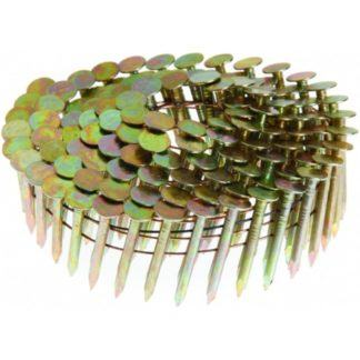 15 Degree Coil Roofing Nails - Smooth Shank