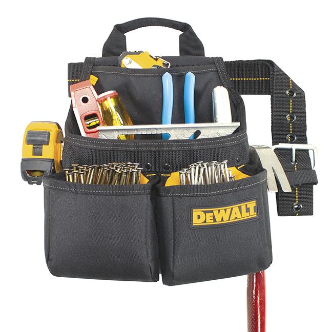 DeWalt DG5663 6-Pocket Framer's Nail & Tool Bag