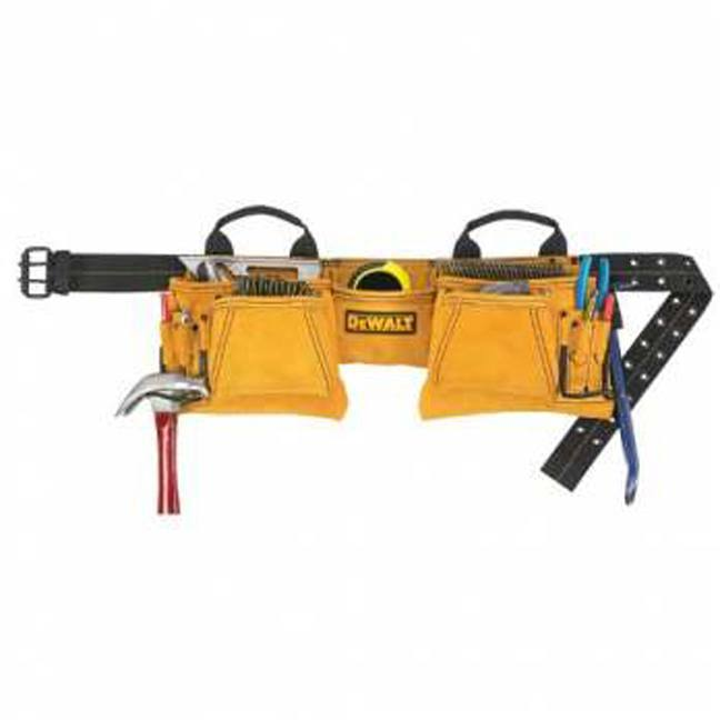 DeWalt DG5372 12-Pocket Carpenter's Suede Apron