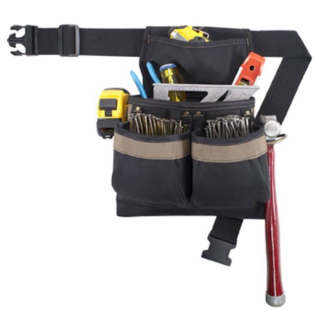 Kuny's PK-1836 5-Pocket Framer's Ballistic Nail and Tool Bag