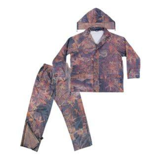 Kuny's R180 2-Piece Camo Polyester Rain Suit