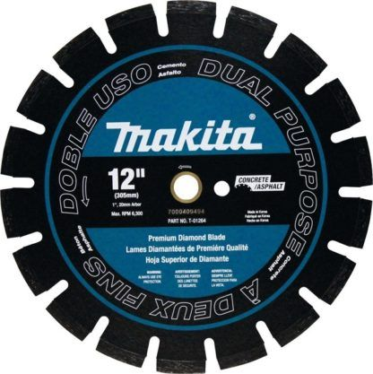 "Makita T-01264 12"" Diamond Power Cutter Blade"