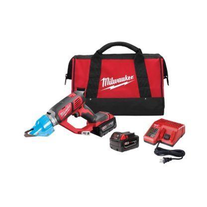 Milwaukee 2636-22 M18 Cordless 14 Gauge Double Cut Shear Kit