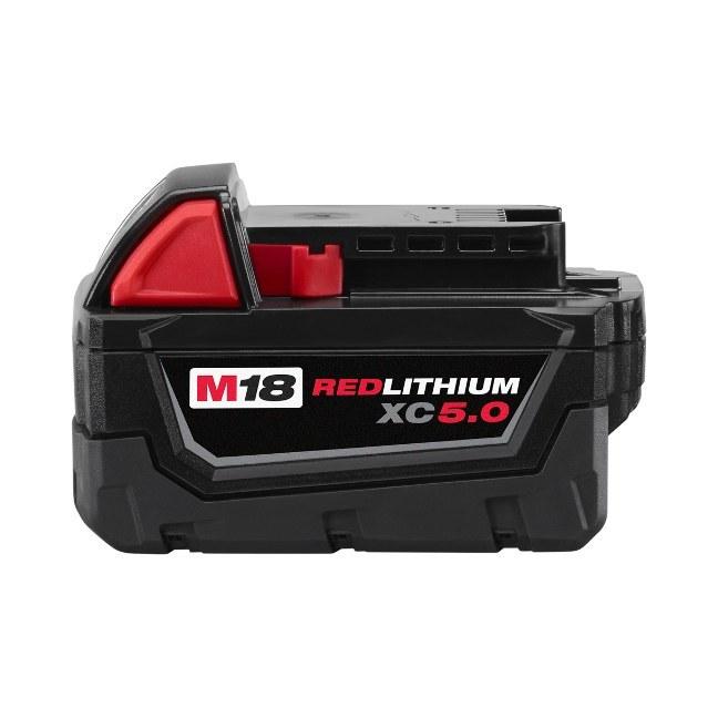 Milwaukee 48-11-1850 M18 REDLITHIUM XC5.0 Battery Pack