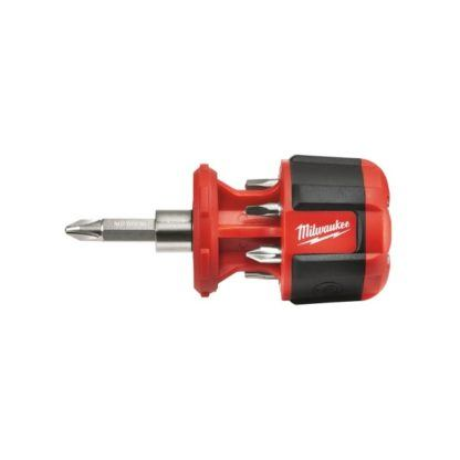 Milwaukee 48-22-2120 Compact 8in1 Ratchet Multi Bit Driver