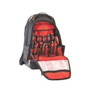 Milwaukee 48-22-8200 Jobsite Backpack open