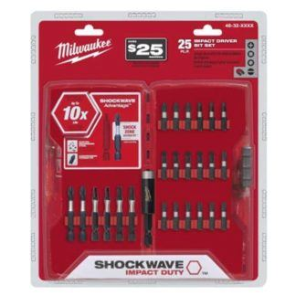 Milwaukee 48-32-4419 25PC Shockwave Impact Drive Set