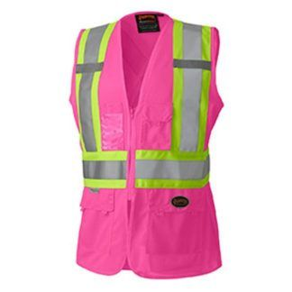 Pioneer 139PK Hi-Viz Women's Safety Vest