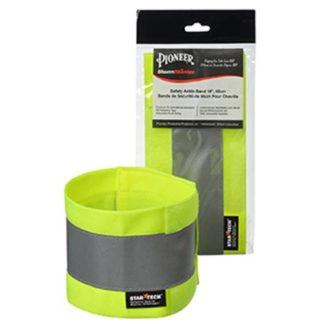 "Pioneer 143 Adjustable Reflective Arm Band - 18"" x 4"""