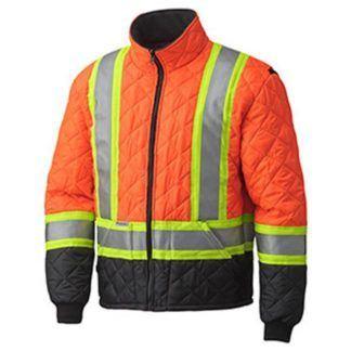 Pioneer 5015 Hi-Viz Quilted Freezer Jacket