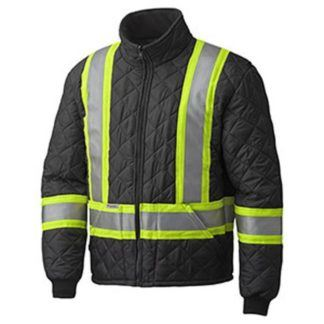 Pioneer 5017 Hi-Viz Quilted Freezer Jacket
