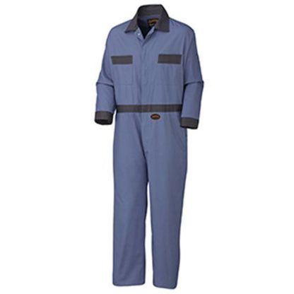 Pioneer 5133T Cotton Coverall with Buttons