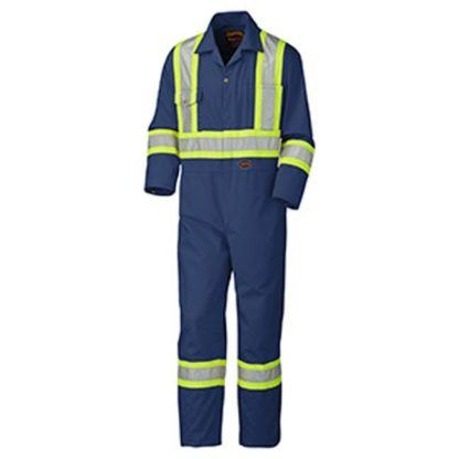 Pioneer 5516T Safety Poly Cotton Coverall