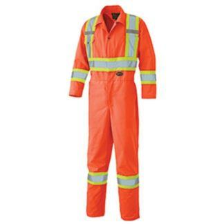 Pioneer 5518T Hi-Viz Safety Poly Cotton Coverall