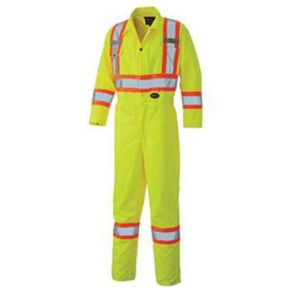 Pioneer 5519 Hi-Viz Safety Poly Cotton Coverall