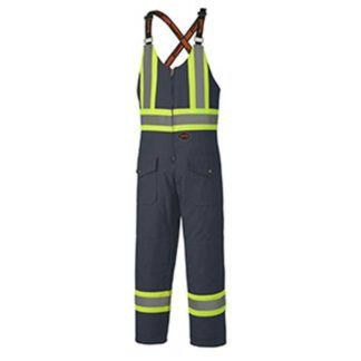 Pioneer 5536 Quilted Cotton Duck Safety Overall