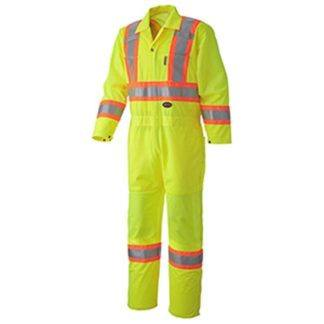 Pioneer 5999A Hi-Viz Traffic Safety Coverall