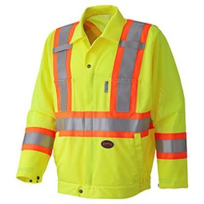 Pioneer 5999J Hi-Viz Traffic Safety Jacket