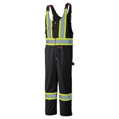 Pioneer 6619BK Hi-Viz Safety Poly Cotton Overall