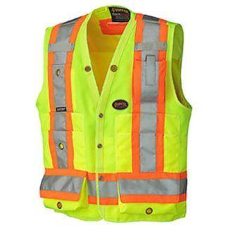 Pioneer 6693 Hi-Viz Surveyor's Safety Vest
