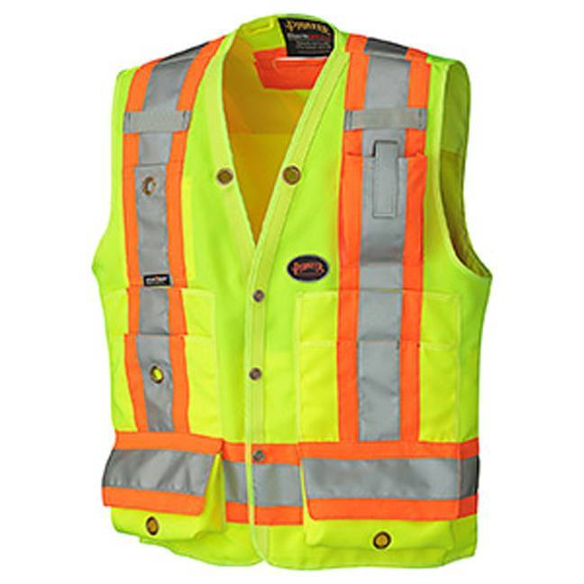 Pioneer 6693 Hi-Viz Surveyor's Safety Vest