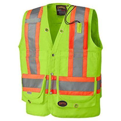 Pioneer 6696 Hi-Viz Surveyor's Safety Vest