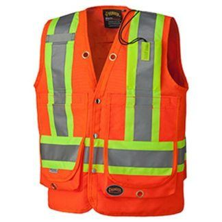 Pioneer 6697 Hi-Viz Surveyor's Safety Vest