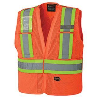 Pioneer 6932 Hi-Viz Safety Tear-Away Vest