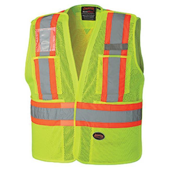 Pioneer 6933 Hi-Viz Safety Tear-Away Vest