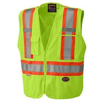Pioneer 6936 Hi-Viz Safety Tear-Away Mesh Back Vest