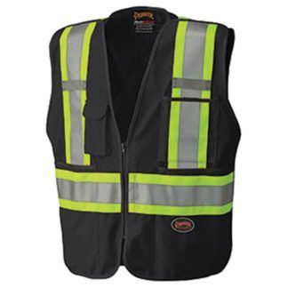 Pioneer 6937 Hi-Viz Safety Tear-Away Mesh Back Vest