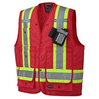 Pioneer 694 CSA Surveyor's Vest - Red