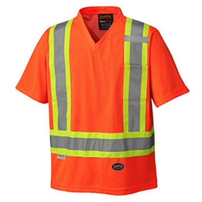 Pioneer 6979 Hi-Viz Traffic Micro-Mesh T-Shirt