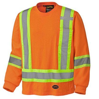 Pioneer 6981 Cotton Long-Sleeved Safety Shirt