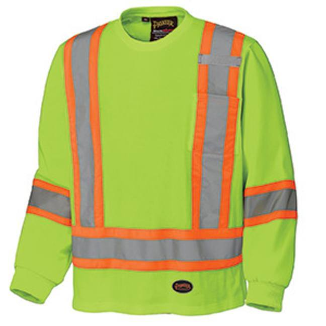 Pioneer 6982 Cotton Long-Sleeved Safety Shirt