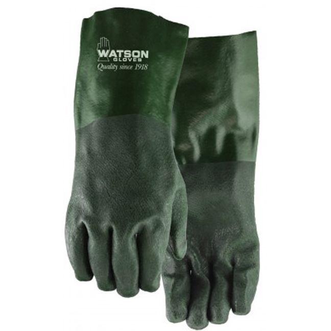 Watson WG14 Green Gauntlet Gloves