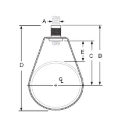 #43 Swivel Ring Hanger