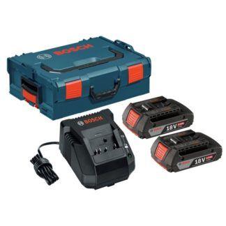 Bosch SKC181-202L 18V 2 Batteries & Charger Starter Kit