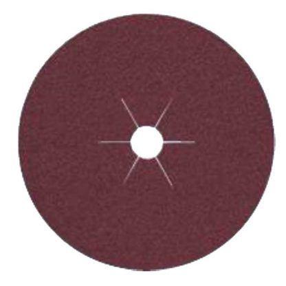 "Klingspor 10980 4-1/2""x7/8"" CS561 36G Abrasive Fibre Discs - 25 pack"