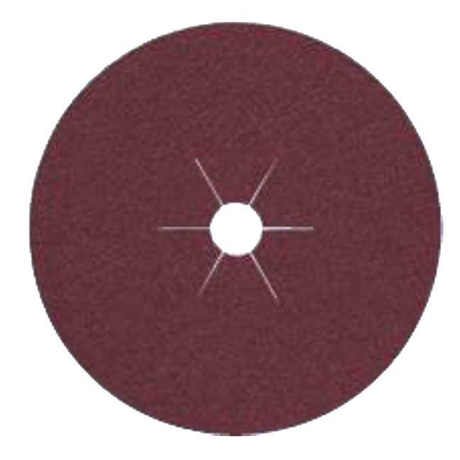 "Klingspor 11018 5""x7/8"" CS561 120G Abrasive Fibre Discs - 25 pack"