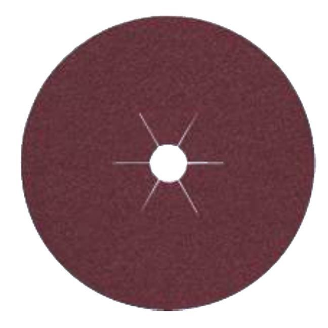 "Klingspor 11066 7""x7/8"" CS561 120G Abrasive Fibre Discs - 25 pack"