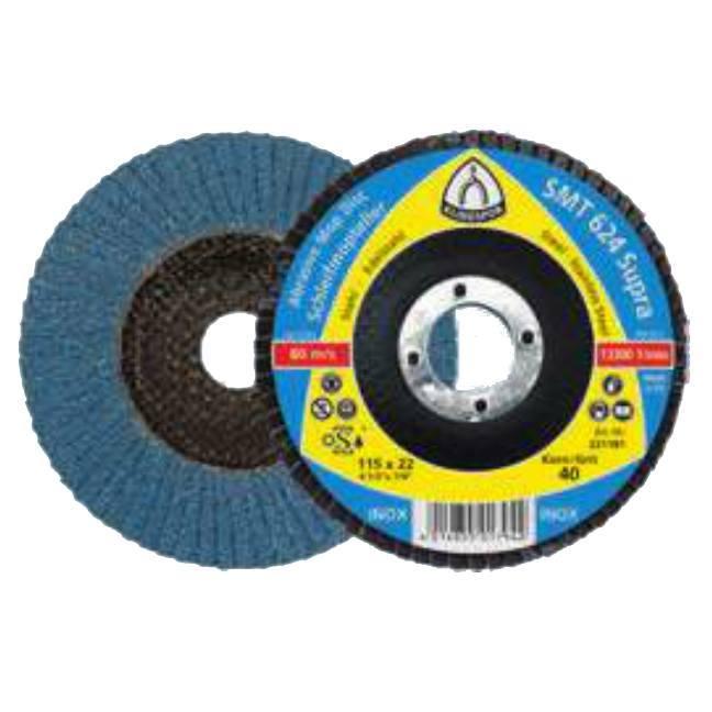 """Klingspor 222110 5"""" SMT624 80G Abrasive Mop Disc - 10 pack"""