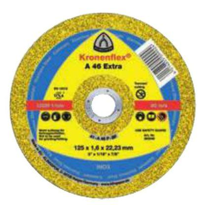 "Klingspor 263247 4-1/2"" Flat Center Kronenflex SS Cut-Off Wheel"