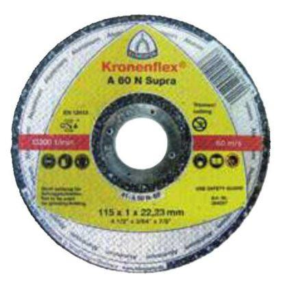 "Klingspor 264298 5"" Flat Center Kronenflex Aluminum Cut-Off Wheel"