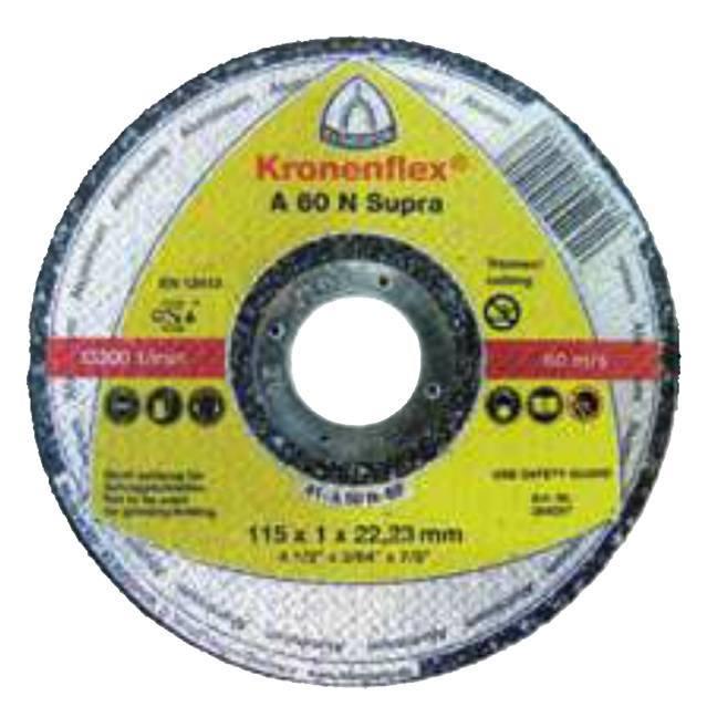 "Klingspor 264298 5"" Flat Center Kronenflex Aluminum Cut-Off Wheel"