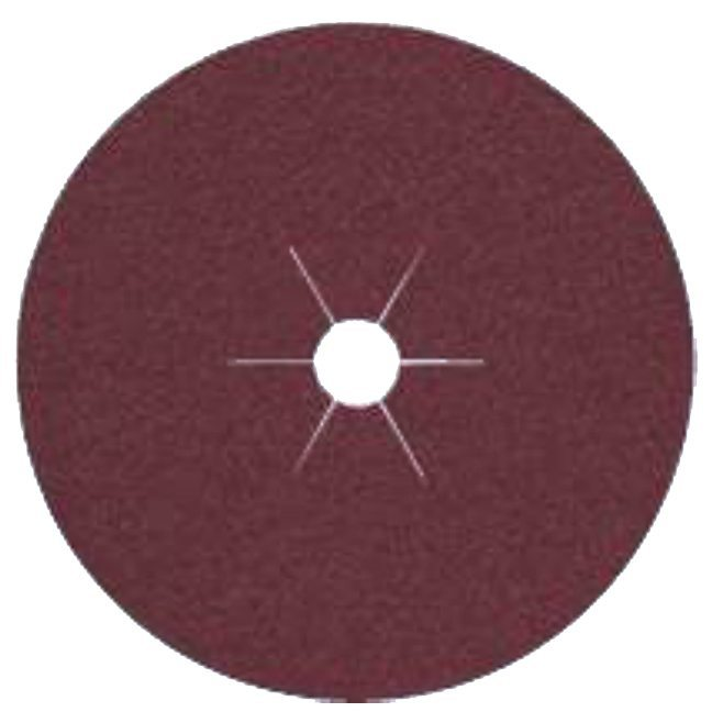 "Klingspor 65730 4""x5/8"" CS561 60G Abrasive Fibre Discs - 25 pack"