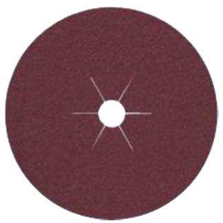 "Klingspor 66313 4-1/2""x7/8"" CS561 50G Abrasive Fibre Discs - 25 pack"