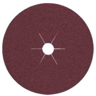 "Klingspor 66318 4-1/2""x7/8"" CS561 60G Abrasive Fibre Discs - 25 pack"